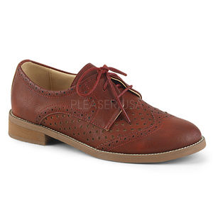 Shoes - Lace Up Wingtip Oxford Shoes Dapper Day Pin Up